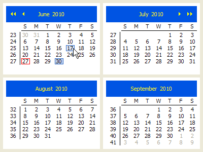 CalendarViewer