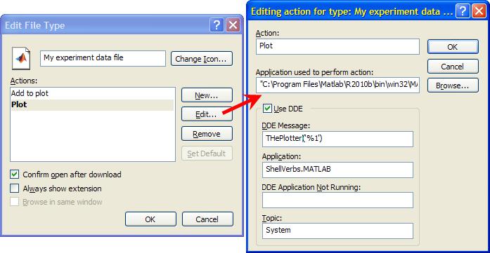 Windows Explorer settings (click for details)