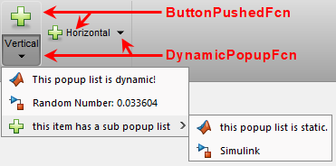 Toolstrip SplitButton with dynamic popup and static sub-menu