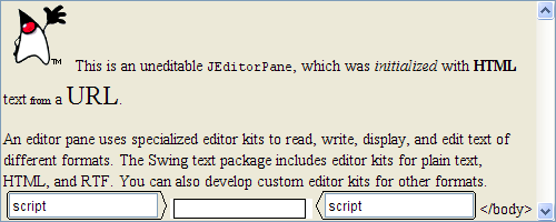 Matlab editbox initialized from an HTML webpage URL